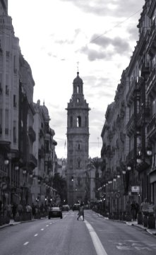 Tower of Iglesia de Santa Catalina