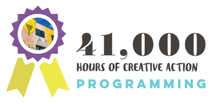 41,000 hours of programming