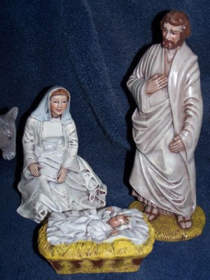 Nativity, Byron, Baby Jesus