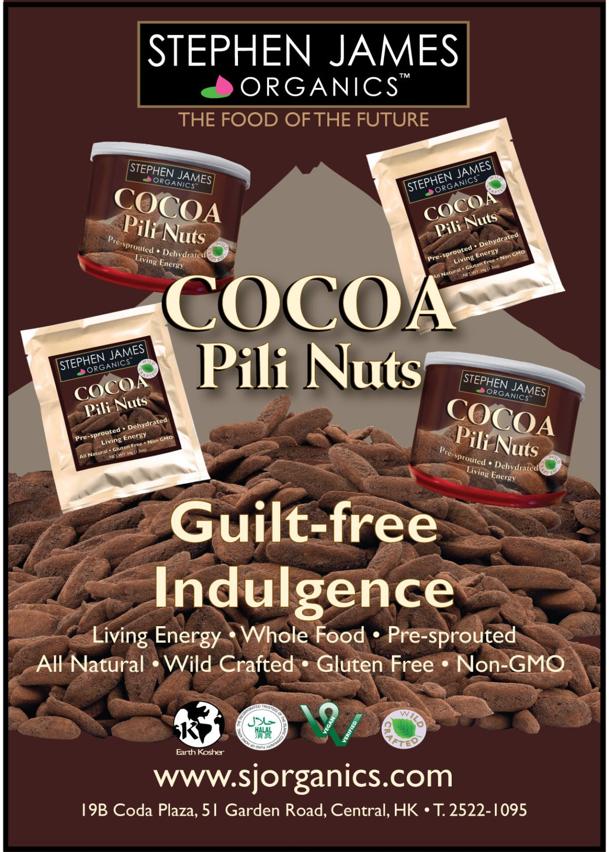 SJO - Cocoa Pili advert