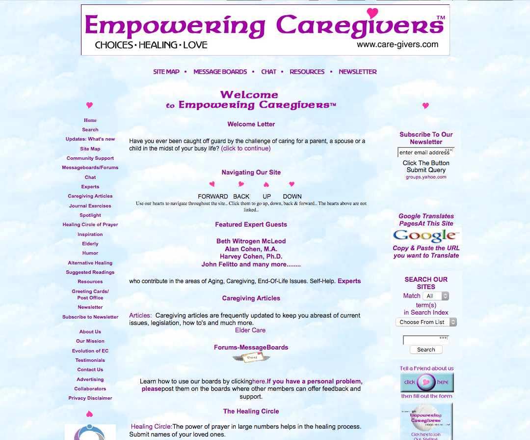Empowering Caregivers
