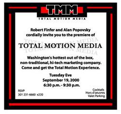 Total Motion Media Invite