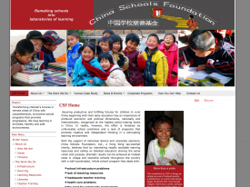 China Schools Foundation - English version