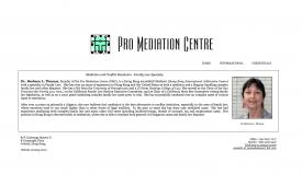 Pro Mediation Centre - Barbara Thomas