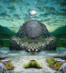 Ancient Prophecies - Maya #1- Fantasy Art