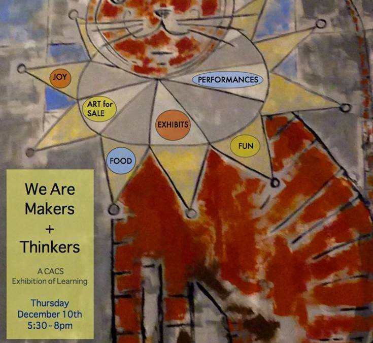 We Are Makers and Thinkers Exhibition