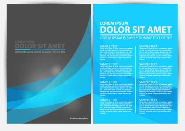 12 Free Brochure Templates   Creative Beacon brochure vector graphics free download 12 Free Brochure Templates