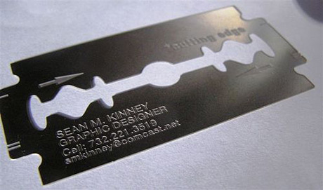 gillette business card