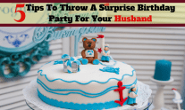 Birthday Party For Your Husband