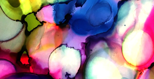 Alcohol Inks Taught by PAT PRO @ the OAG