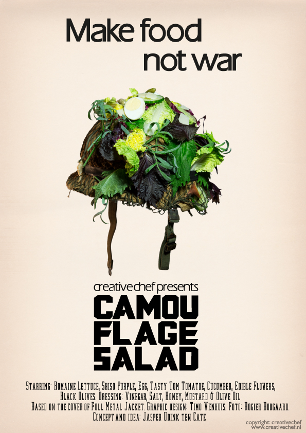 Camouflage Salad