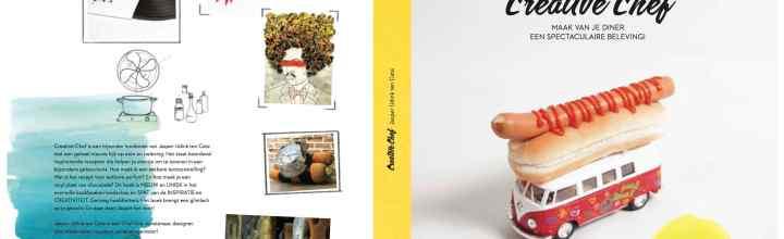 Creative Chefs Kookboek vanaf 12 februari in de winkel