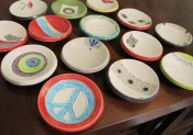 Mini Dishes - for tea bags, vitamins, rings, etc