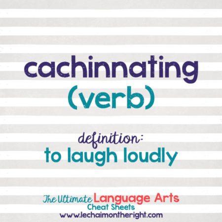 cachinnating