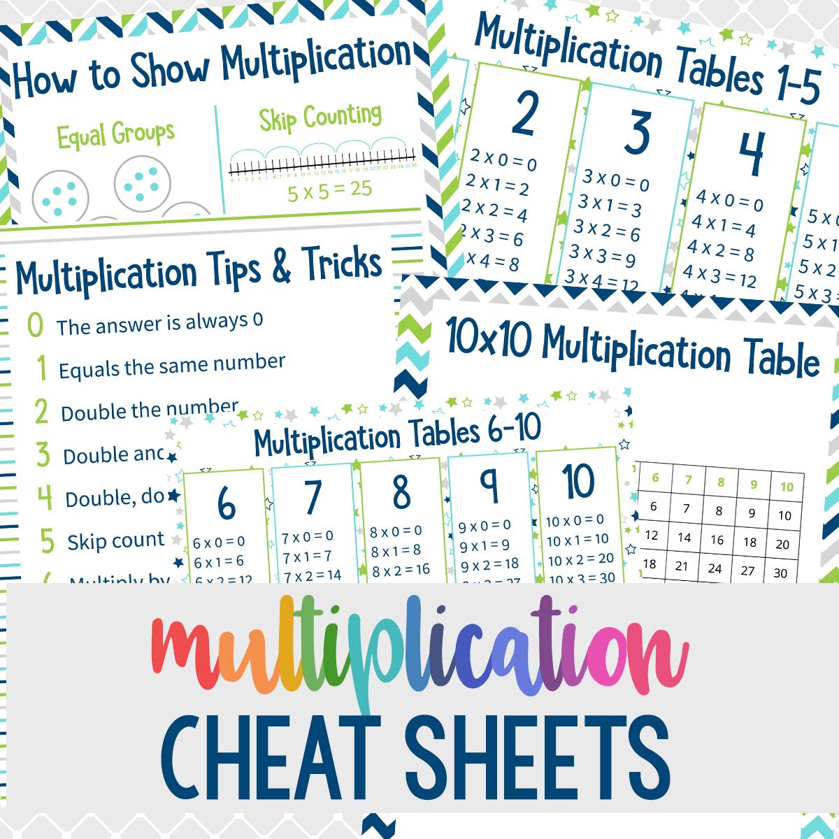 6 Multiplication Table Tricks