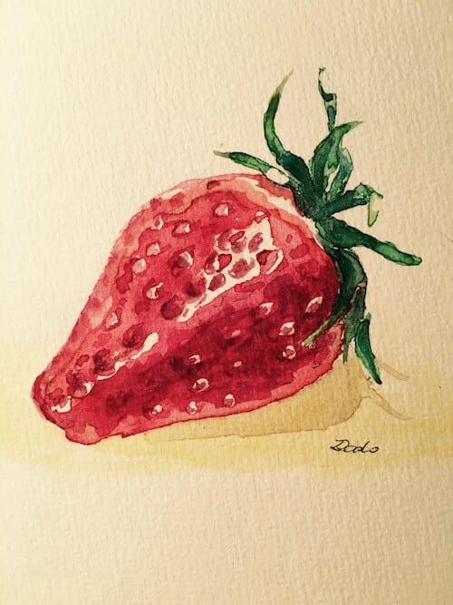 Poem: Erdbeer-Ballett