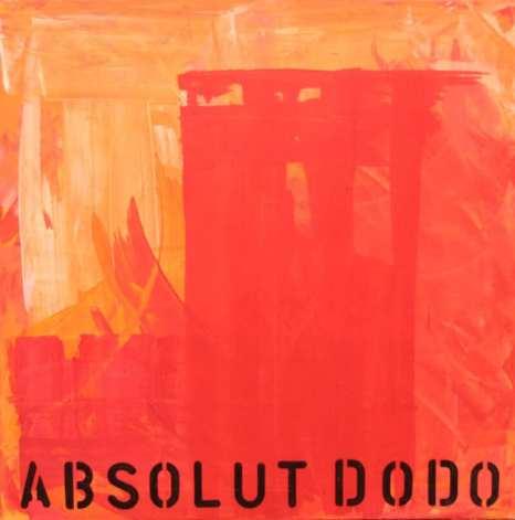 Absolut Dodo, Acryl auf Leinwand, Dodo Kresse