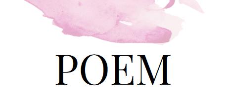 Das poetische Fenster: Gedicht am Freitag