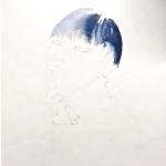 Du siehst ein Stepfoto der Schrittanleitung, bei dem die Haare mit Aquarellfarben gemalt sind