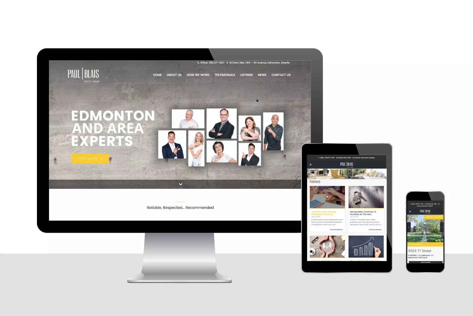 Edmonton & Calgary Web Design, Websites