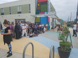 The Arts Park on 8th Ribbon Cutting