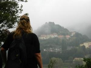 Annette Young in the Pyrenees Mountains