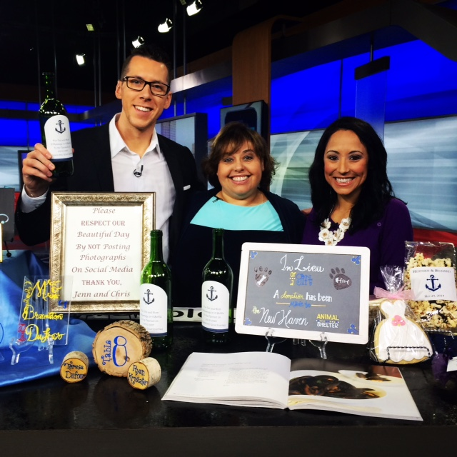 Your Wedding Details – have fun! On the set of CT STYLE with Teresa Dufour and Ryan Krisafer!