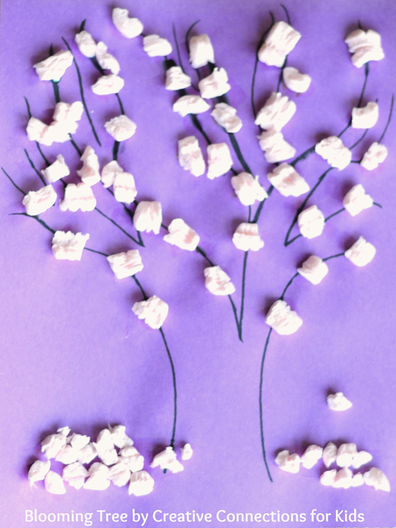 A Blooming Tree A Craft For Spring
