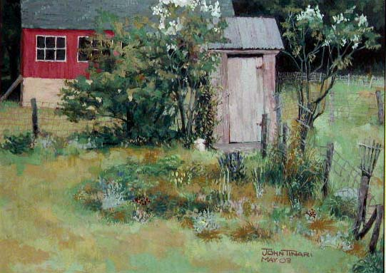 Outhouse, John Tinari