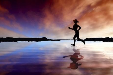 Runner Female Sport Running Person Female Runner