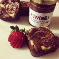 "Rawtella ""Cheesecake"" Brownies {37Cooks}"