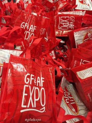 Sea of GFAF Expo Bags