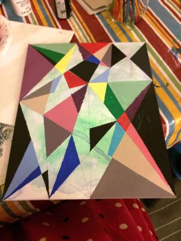 Geometric Painting 1