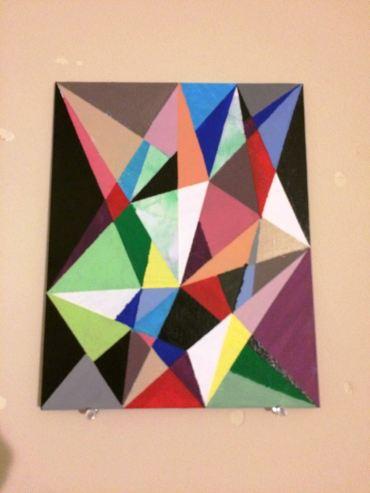 Geometric Painting 3