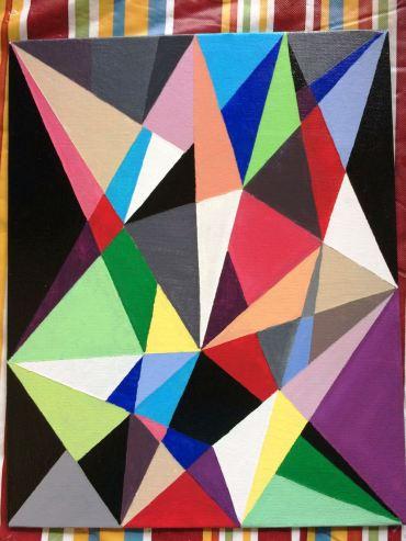 Geometric Painting 5