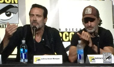 TWD Stars Jeffrey Dean Morgan and Andrew Lincoln