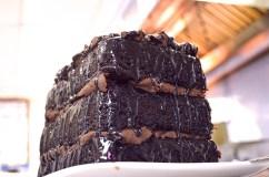 DH Athens GREEK Chocolate Cake Towering