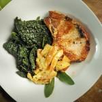 Slow Cooker Apple Bacon Pork Chops Recipe