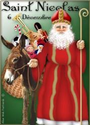 St. Nicholas the patron saint of children and baking