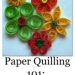 Basic Paper Quilling Techniques