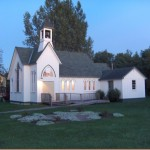 Wordless Wednesday: Church at Pioneer Village at Twilight