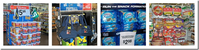 #SnickersMinisFootballPartyShopping
