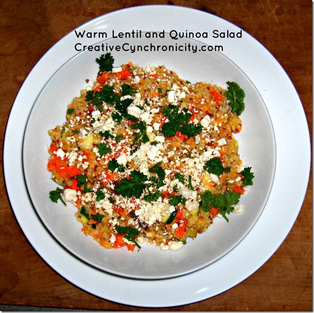 Warm_Lentil_Quinoa_Salad_from_CreativeCynchronicity.com
