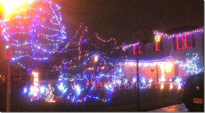 Christmas Light Display Bus Tour in London Ontario CreativeCynchronicity.com