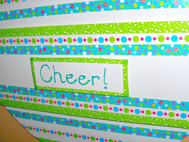 Make a large retro ornament wall/window decoration on foam board CreativeCynchronicity.com