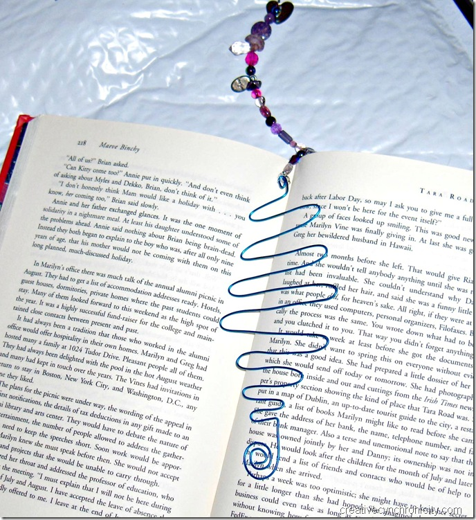 Wire and bead bookmarks CreativeCynchronicity.com