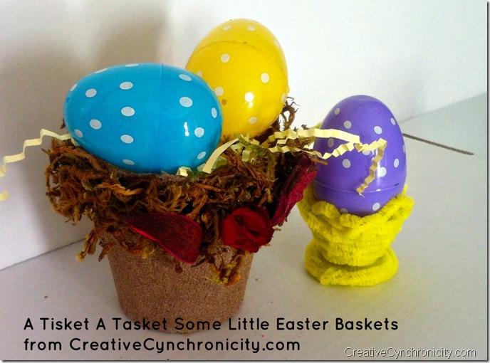 Little-Easter-Baskets from CreativeCynchronicity.com #EasterHOA