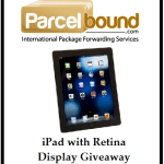 iPad with Retina Display Giveaway Sponsored by Parcelbound.com