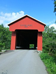 Wordless Wednesday: Busching Covered Bridge, Versailles Indiana
