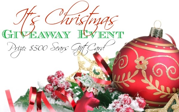 Sears Christmas Photos.It S Christmas Giveaway Event 500 Sears Gift Card Us Only